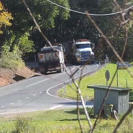 Picture for quarry truck media release