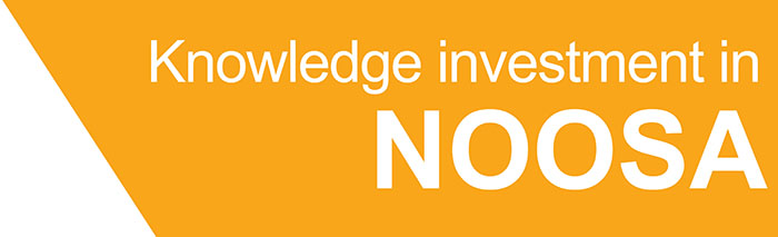Knowledge investment noosa banner